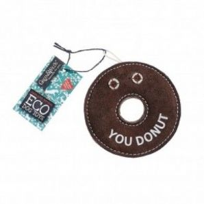 Green & Wilds Derric the Donut  (Eco dog toy)